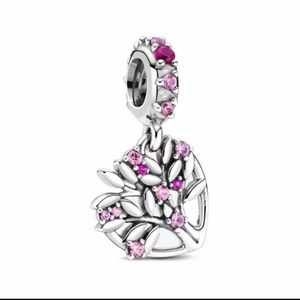 925 Sterling Silver Family Tree Charm